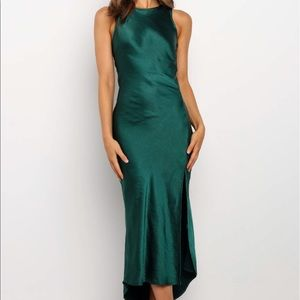 Emerald Green Dress from Pedal and Pup
